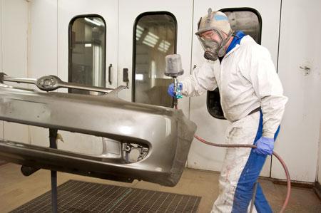 汽车漆代理:汽车漆的喷涂工艺